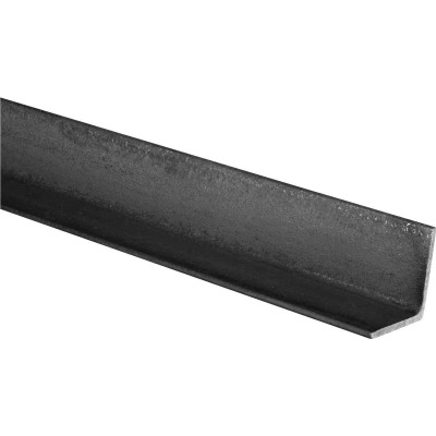 HILLMAN Steelworks Plain 1-1/4 In. x 4 Ft., 1/8 In. Weldable Solid Angle