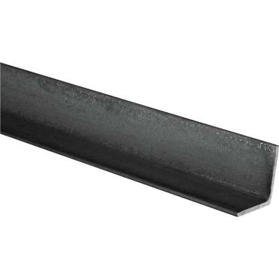 HILLMAN Steelworks Plain 1-1/2 In. x 4 Ft., 1/8 In. Weldable Solid Angle